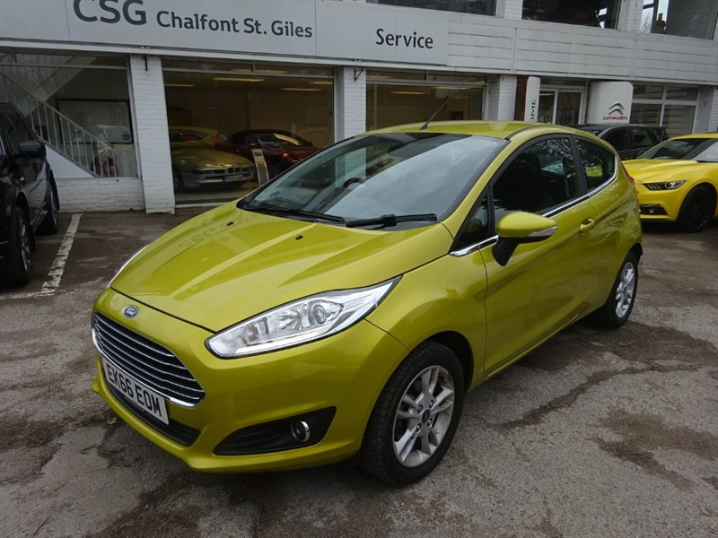 used Ford Fiesta ZETEC -FFSH - AIR CON - ALLOYS in amersham