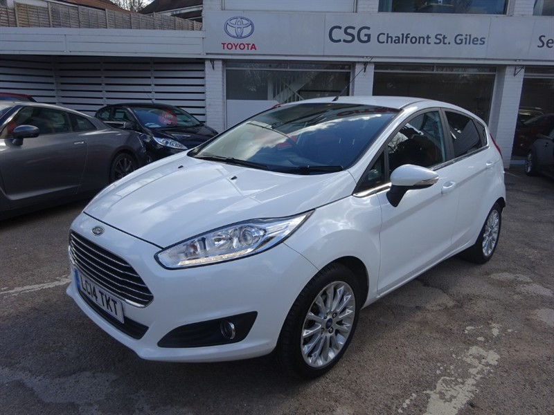 used Ford Fiesta TITANIUM X -H/SEATS - SAT NAV - PDC - CAMERA in amersham