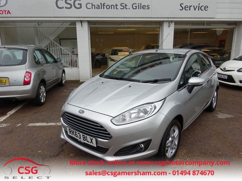 used Ford Fiesta ZETEC - FFSH - ONE OWNER - AC - BLUETOOTH - CLIMATE PACK in amersham