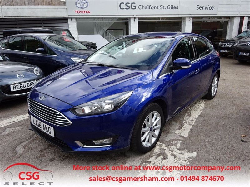 used Ford Focus TITANIUM 1.0 ECO BOOST AUTO - 1 OWNER -FFSH in amersham