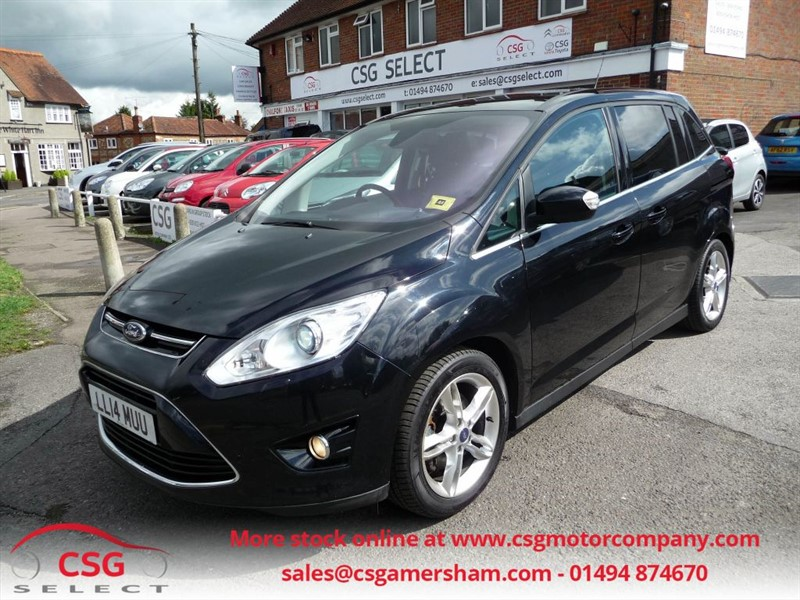 used Ford Grand C-Max TITANIUM X TDCI - ONE OWNER - FFSH - 7 SEATS - SAT NAV - PAN ROOF in amersham