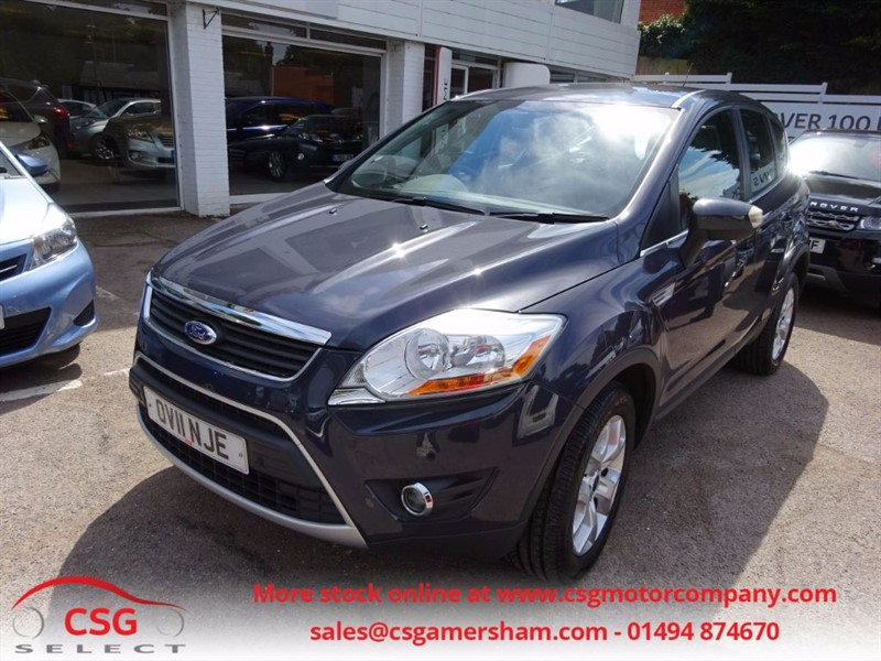 used Ford Kuga ZETEC TDCI 2WD - ONE OWNER - FSH - CLIMATE - BLUETOOTH in amersham