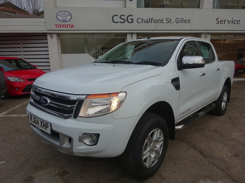 used Ford Ranger LIMITED 4X4 DCB TDCI -SAT NAV - LEATHER - FFSH in amersham
