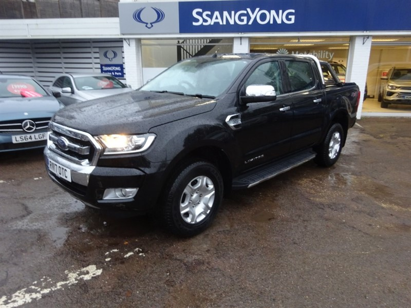 used Ford Ranger LIMITED 4X4 DCB TDCI in amersham