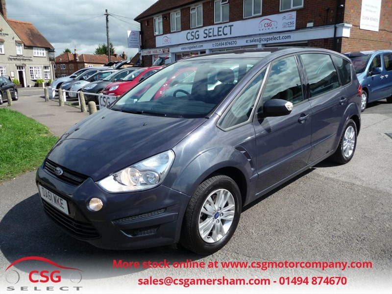 used Ford S-Max ZETEC TDCI S/S - FSH - CLIMATE - ALLOYS - 7 SEATS in amersham