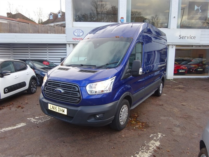 used Ford Transit 350 TREND H/R P/V - BLUETOOTH - FRONT AND REAR SENSORS in amersham