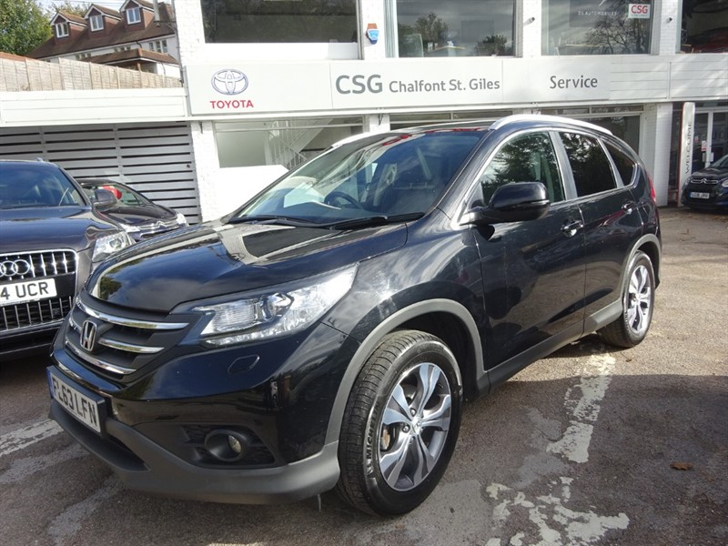 used Honda CR-V I-VTEC EX - FHSH - SAT NAV - H/LEAT0HER  - SUNROOF - BLUETOOTH - CAMERA in amersham