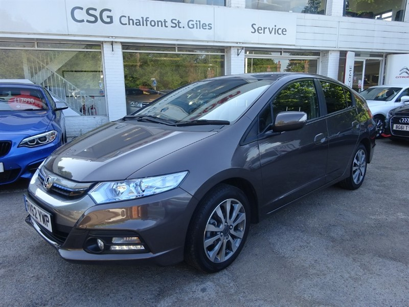 used Honda Insight IMA HS - 1/2 LEATHER  - PARKING SENSORS - ZERO TAX - FSH -CRUISE CONTROL in amersham