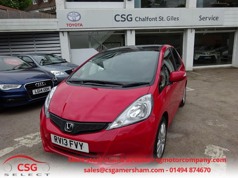 used Honda Jazz I-VTEC EX AUTO - FHSH - CLIMATE - ALLOYS - LOW MILEAGE in amersham