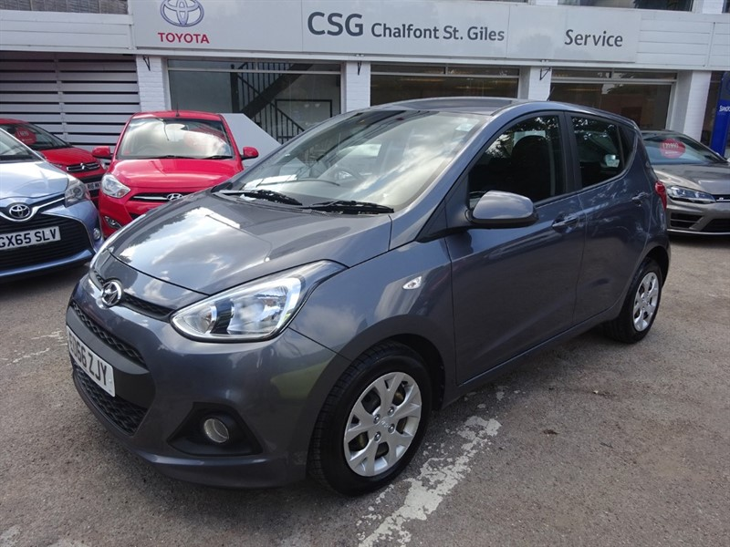 used Hyundai i10 SE - AIR CON - FSH - £30.00 TAX - BLUETOOTH in amersham