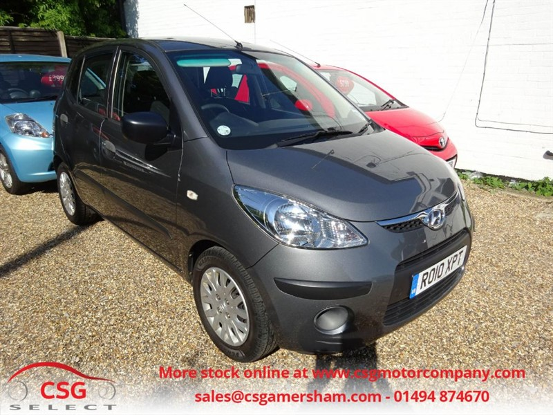 used Hyundai i10 CLASSIC - ONE OWNER - FULL HYUNDAI HISTORY - AC - CD in amersham