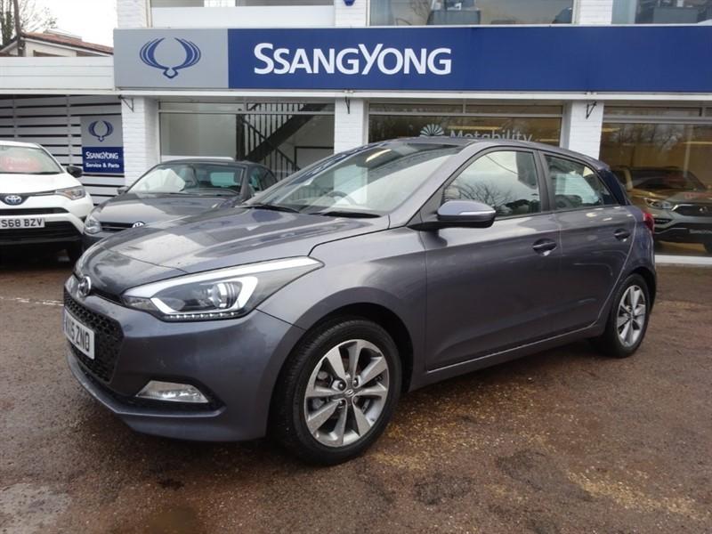 used Hyundai i20 MPI SE - PARKING SENSORS - BLUETOOTH  - CRUISE in amersham
