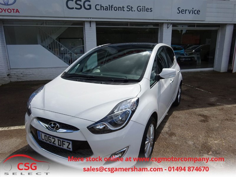 used Hyundai ix20 STYLE AUTO - FHSH - PAN ROOF - AC - BLUETOOTH in amersham