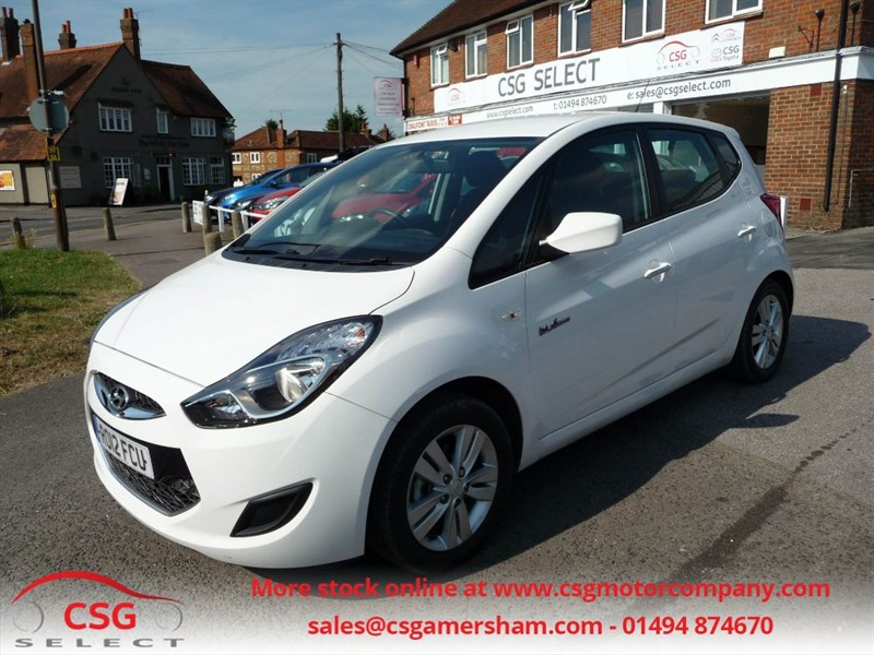 used Hyundai ix20 ACTIVE - FSH - AC - ALLOYS - BLUETOOTH in amersham