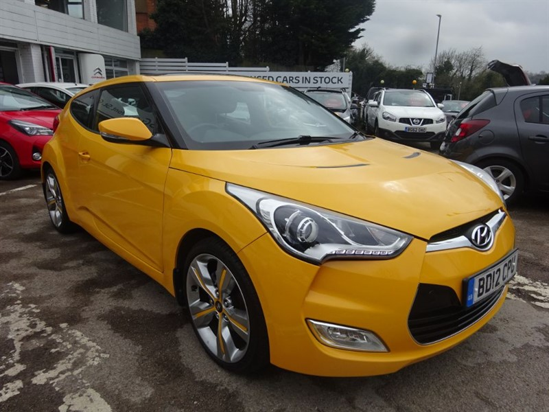 used Hyundai Veloster GDI SPORT -P/ROOF -H/LEATHER - SAT NAV in amersham