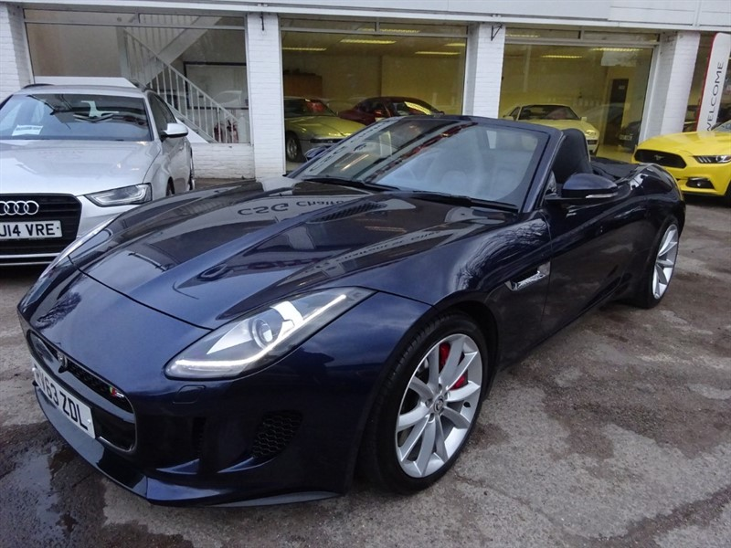 used Jaguar F-Type V6 S - SWITCHABLE ACTIVE EXHAUST - MERIDIAN SOUND in amersham