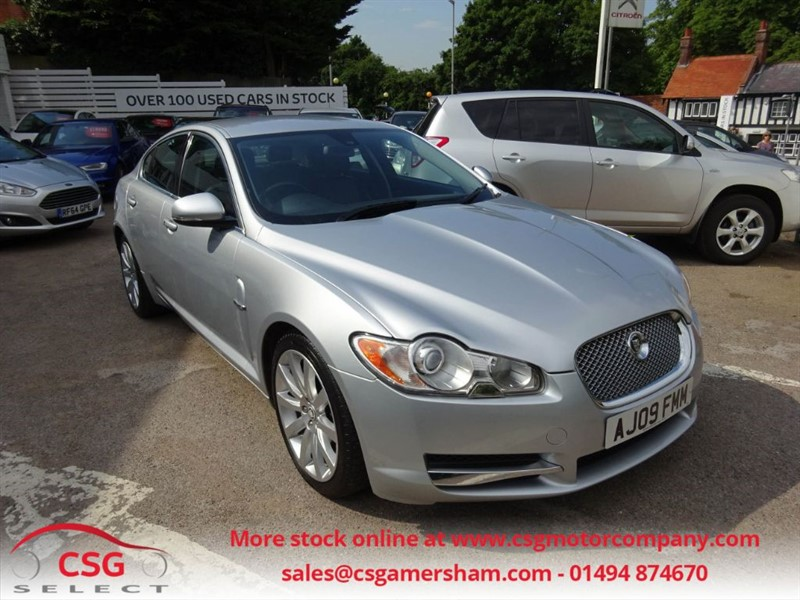 used Jaguar XF V6 PREMIUM LUXURY - LEATHER - SAT NAV - CLIMATE - BLUETOOTH in amersham