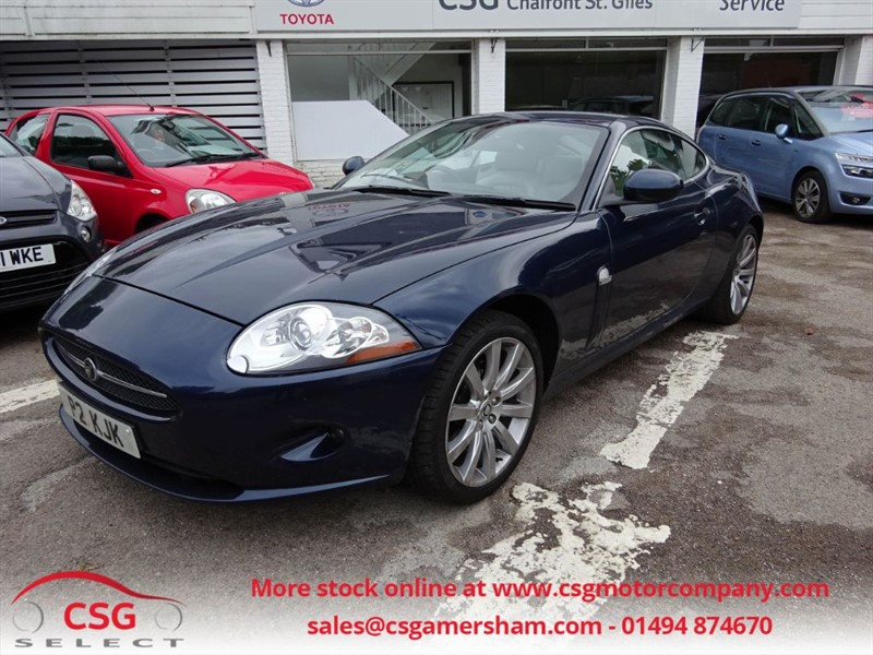 used Jaguar XK COUPE - FSH - HEATED LEATHER - NAV - CLIMATE - BLUETOOTH in amersham