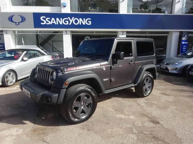 used Jeep Wrangler 3.6 V6 RUBICON RECON- SAT NAV - HEATED LEATHER - PARKING SENSORS in amersham