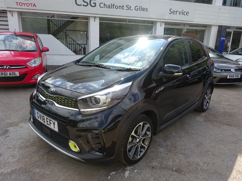 used Kia Picanto X-LINE - 1/2 LEATHER - R/CAMERA - BLUETOOTH - in amersham