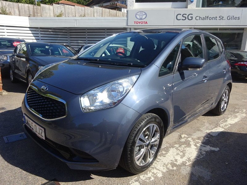 used Kia Venga CRDI 2- REAR SENSORS - BLUETOOTH - AIR CON in amersham
