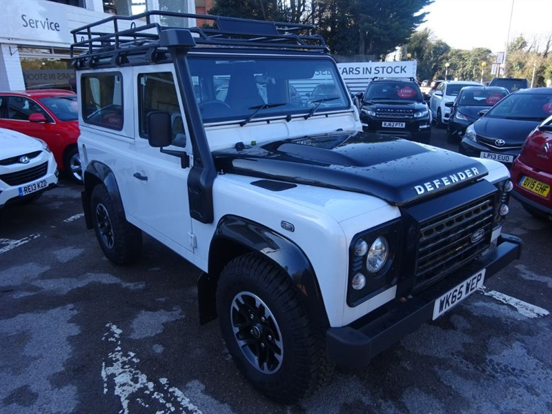 used Land Rover Defender 90 TD ADVENTURE STATION WAGON in amersham