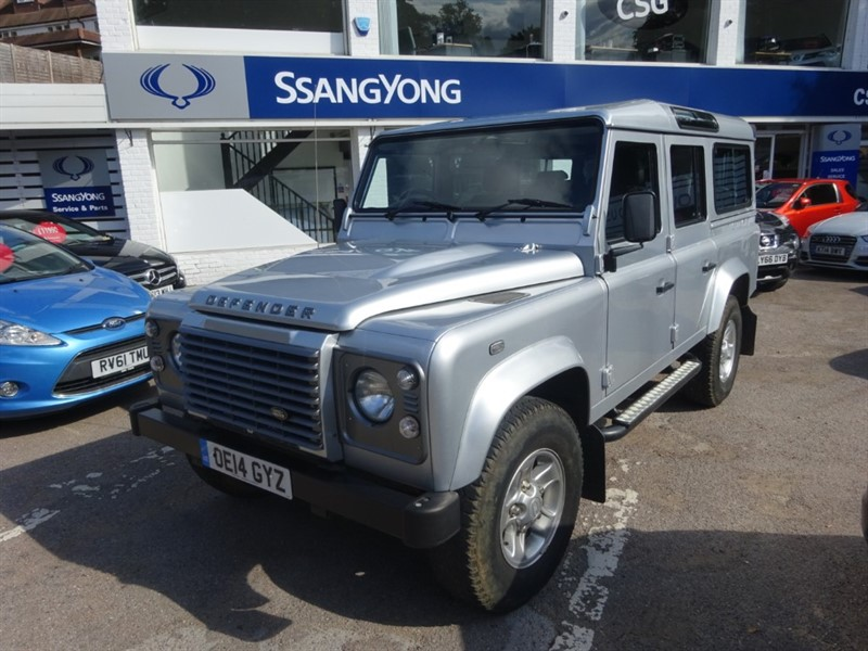 used Land Rover Defender TD XS STATION WAGON - 1/2 HEATED LEATHER - FLSH -AIR CON - BLUETOOTH in amersham