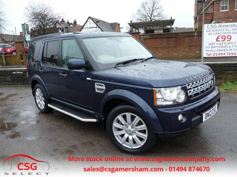 used Land Rover Discovery 4 SDV6 HSE AUTO - FLRSH - SAT NAV - STEPS - SUNROOFS in amersham