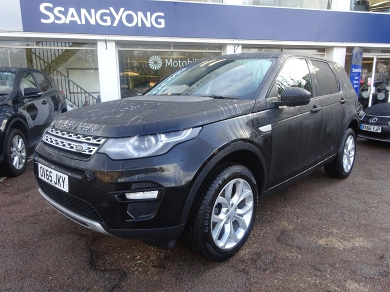 used Land Rover Discovery Sport TD4 HSE - 7 SEATS - P/ROOF -H/LEATHER - SAT NAV in amersham
