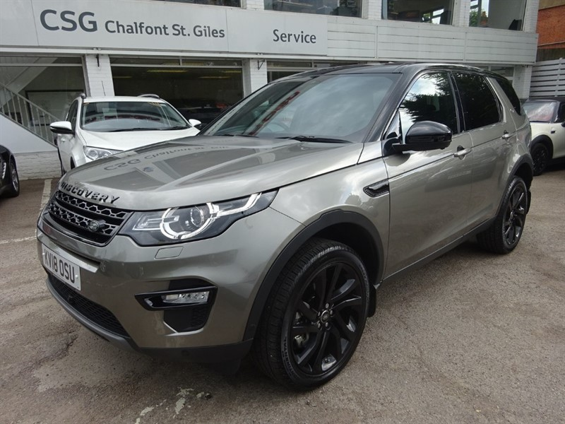 used Land Rover Discovery Sport SD4 HSE BLACK - BLACK PACK - PAN ROOF - H/LEATHER - 7 SEATS in amersham