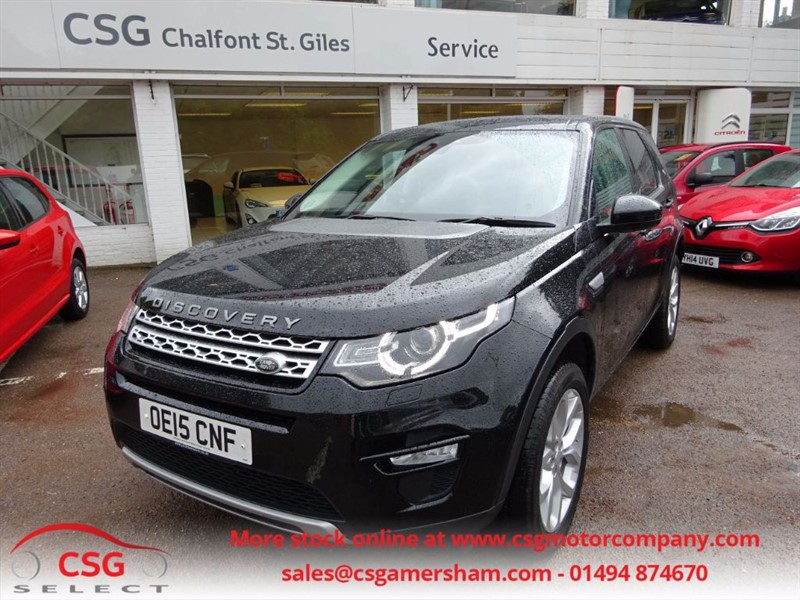 used Land Rover Discovery Sport SD4 HSE AUTO - FLRSH - 7 SEATS - NAV - PAN ROOF - PRIVACY - INCONTROL APPS in amersham