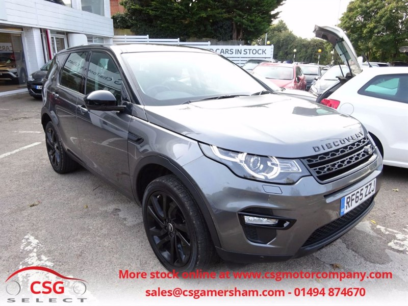 used Land Rover Discovery Sport TD4 HSE BLACK EDITION - SAT NAV - P/ROOF- H/LEATHER -  7 SEATS in amersham