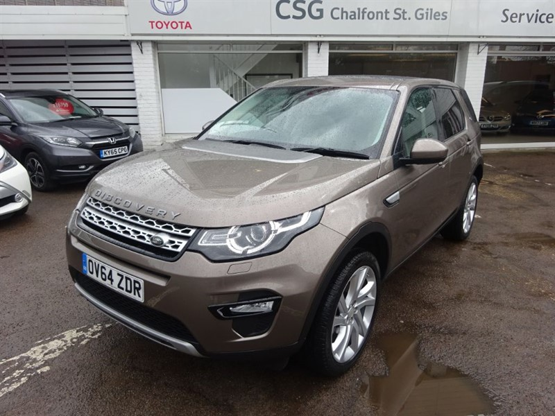 used Land Rover Discovery Sport SD4 HSE -P ROOF - SAT NAV - FLSH - 7 SEATS in amersham