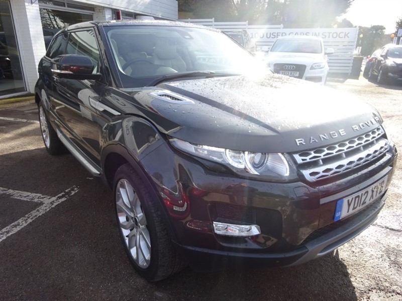 used Land Rover Range Rover Evoque SD4 PRESTIGE LUX - SAT NAV - H/LEATHER - in amersham