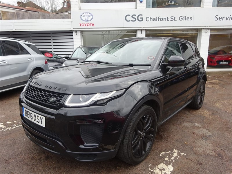 used Land Rover Range Rover Evoque TD4 HSE DYNAMIC - FLSH - P/ROOF - BLACK PACK in amersham