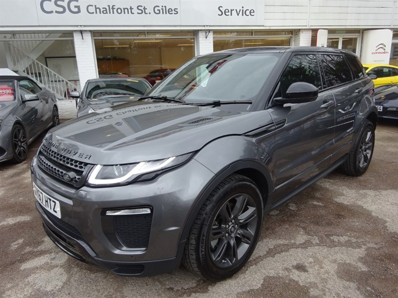 used Land Rover Range Rover Evoque TD4 LANDMARK - P/ROOF - R/CAMERA- SERVICES PACK in amersham