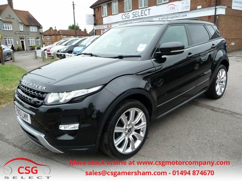 used Land Rover Range Rover Evoque SD4 DYNAMIC AUTO - FLRSH - SAT NAV - PAN ROOF - POWER TAILGATE - TPMS in amersham