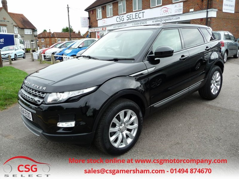 used Land Rover Range Rover Evoque SD4 PURE TECH AUTO - SAT NAV - HEATED LEATHER - BLUETOOTH in amersham
