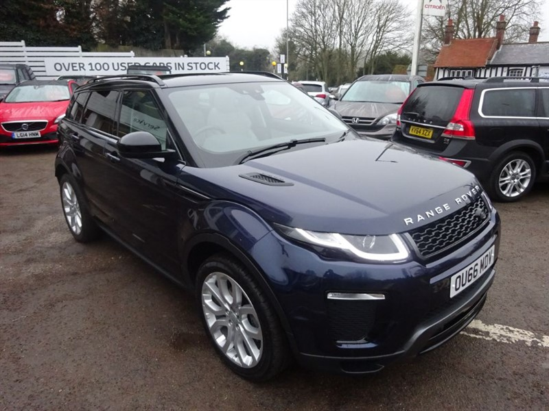 used Land Rover Range Rover Evoque TD4 HSE DYNAMIC - SAT NAV - P/ROOF - FLSH in amersham
