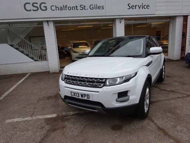 used Land Rover Range Rover Evoque SD4 PURE TECH AUTO - FFSH - LEATHER - NAV - PAN ROOF - BLUETOOTH in amersham