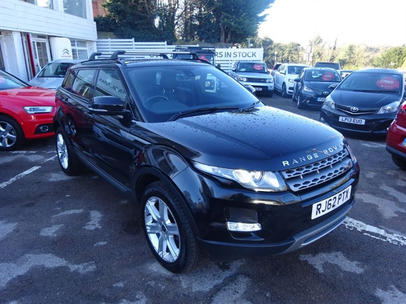 used Land Rover Range Rover Evoque SD4 PURE TECH AUTO - FLRSH - LEATHER - NAV - PAN ROOF - BLUETOOTH in amersham