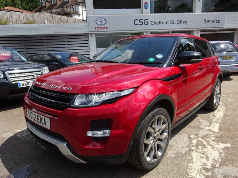 used Land Rover Range Rover Evoque SD4 DYNAMIC LUX - P/ROOF - FLSH - SAT NAV in amersham
