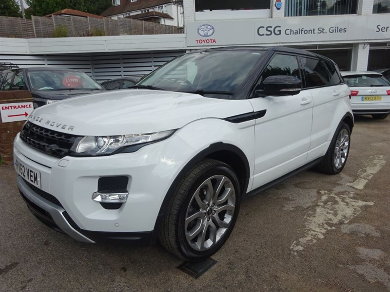 used Land Rover Range Rover Evoque SI4 DYNAMIC LUX - P/ROOF - SAT NAV - FLSH - H/LEATHER in amersham