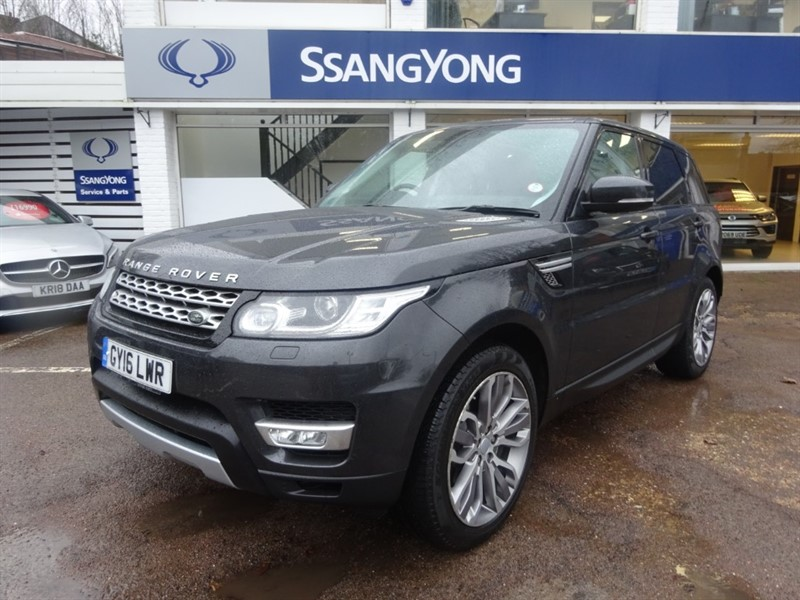 used Land Rover Range Rover Sport SDV6 HSE - 7 SEATS - PANROOF - SAT NAV - H+C LEATHER in amersham