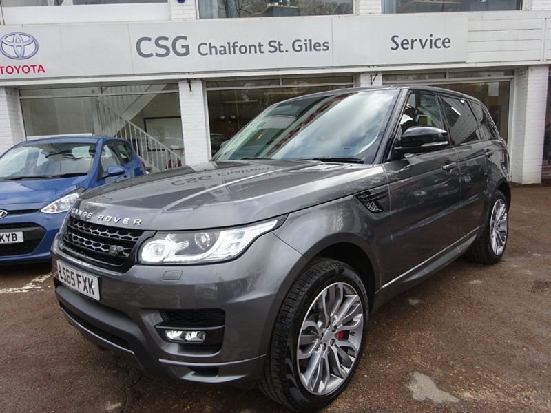 used Land Rover Range Rover Sport SDV6 AUTOBIOGRAPHY DYNAMIC - PAN ROOF - FLSH  - 1 OWNER in amersham