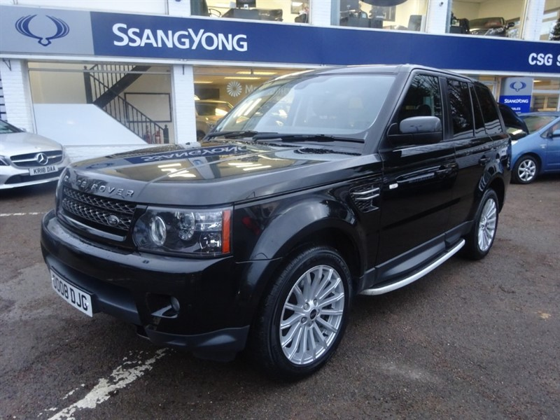 used Land Rover Range Rover Sport SDV6 SE - H/LEATHER - SAT NAV - PARKING SENSORS in amersham