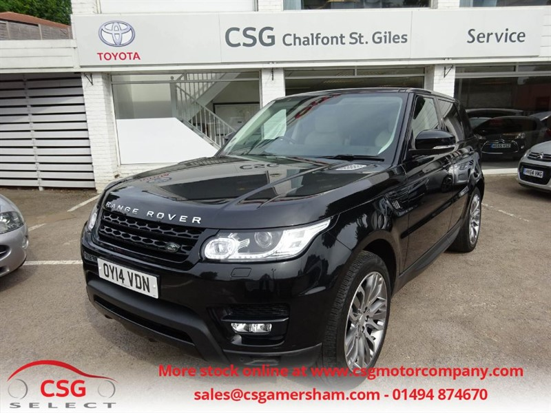 used Land Rover Range Rover Sport SDV6 HSE DYNAMIC - 7 SEATS - FLRSH - NAV - MERIDIAN - LEATHER in amersham