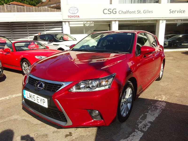 used Lexus CT 200h ADVANCE - SAT NAV -H/LEATHER - FLSH - PDC in amersham
