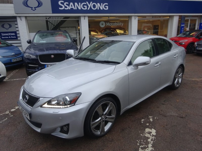 used Lexus IS 250 250 ADVANCE - H/LEATHER - SAT NAV - FLSH -R/CAMERA in amersham