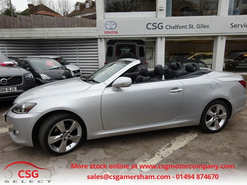 used Lexus IS 250C SE-L AUTO - FLSH - SAT NAV - CAMERA - LOW MILEAGE in amersham